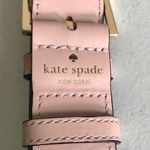 Kate Spade Make It Mine Bag Strap Pink Leopard